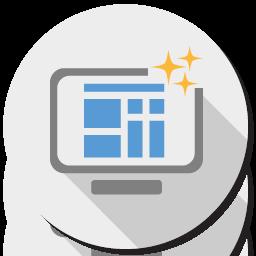 Ícone de Criação de Site